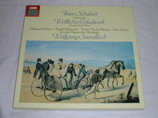 (LP)SCHUBERT・WELTLICHES VOKALWERK・SAWALLISCH