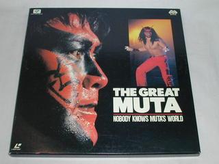 (LD)ザ・グレート・ムタ THE GREAT MUTA