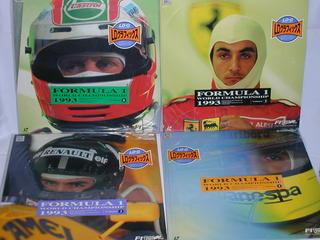 (LD:レーザーディスク)F-1グランプリ1993 ワールドチャンピオンシップラウンド1~8 全8巻セット【中古】