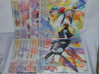 (LD:レーザーディスク)セイバーマリオネットJtoX 全9巻セット【中古】