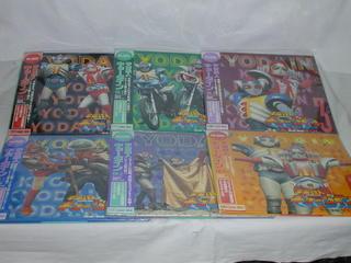 (LD:レーザーディスク)宇宙鉄人キョーダイン VOL.1~6 全6巻セット【中古】