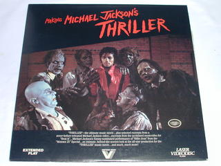 (LD:レーザーディスク)MAKING MICHAEL JACKSON'S THRILLER【輸入盤】【中古】