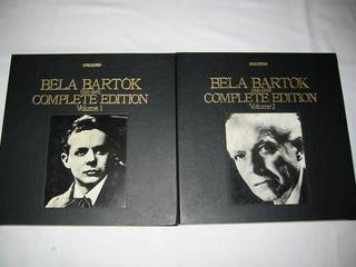 (LP)バルトーク大全集 BELA BARTOK(1881-1945) COMPLETE EDITION Volume1&2 全2BOX SET (LP40枚)【中古】