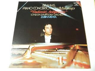 超激安特価 LP ブラームス ピアノ協奏曲 第2番 変ロ長調 指揮:ズービン メータ 中古 作品83 大注目