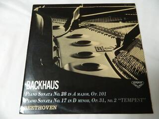 LP 出色 ベートヴェン ピアノ奏鳴曲 第28番 第17番《テンペスト》 激安価格と即納で通信販売 バックハウス 中古 ピアノ