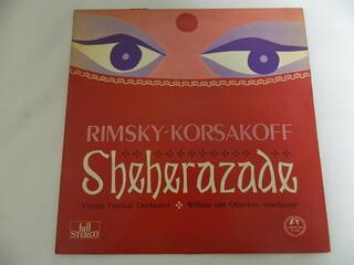 テレビで話題 贈与 LP リムスキー=コルサコフ シェエラザード 作品35 中古