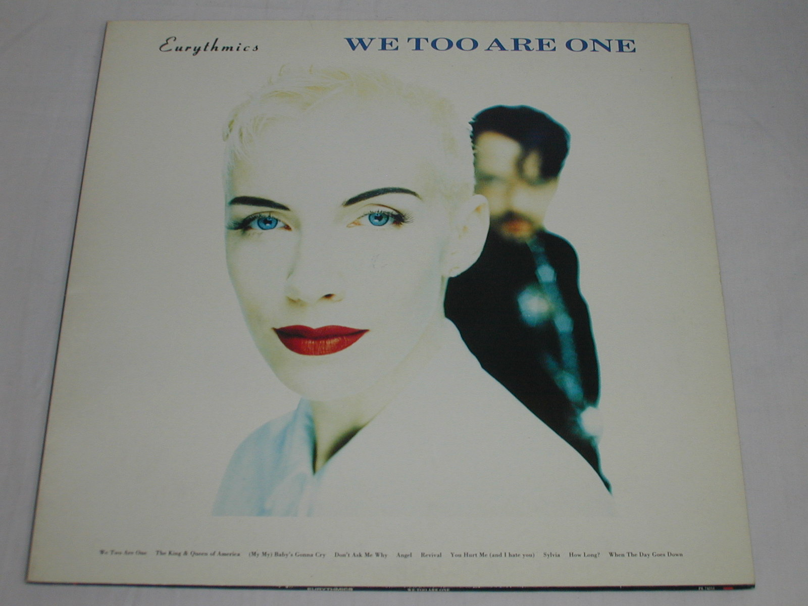(LP)EURYTHMICS/WE TOO ARE ONE