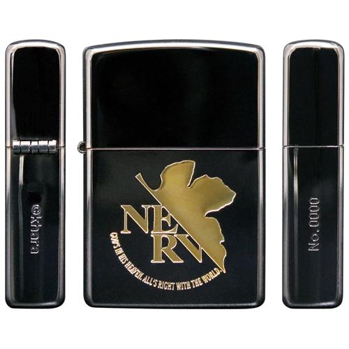 【送料無料(※一部地域除く)】ZIPPOエヴァンゲリオン NERV BLACK&GOLD【プレゼント★誕生日】
