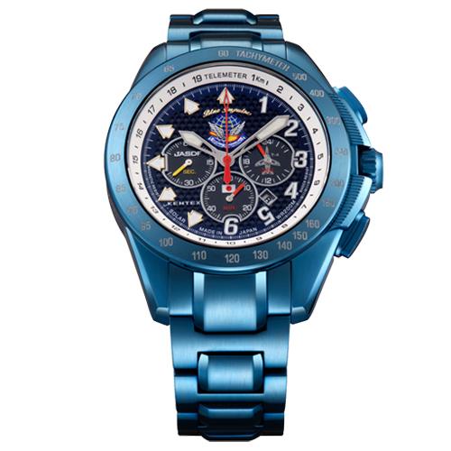 【Kentex】【送料無料(※一部地域除く)】ブルーインパルスSP腕時計 「T-4」20周年記念モデル★プレゼント/誕生日★