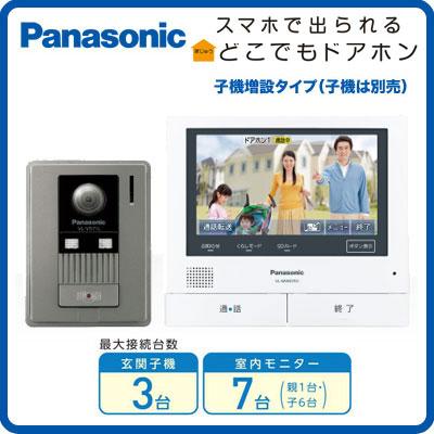 VL-SVD701KL パナソニック Panasonic 家じゅうどこでもドアホン テレビドアホン3-7タイプ 基本システムセット
