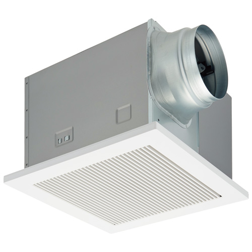 DVF-T20RVQDA 東芝 ダクト用換気扇 ツインエアロファン 低騒音形 インテリア格子 強弱付 大風量形 居間・事務所・店舗用