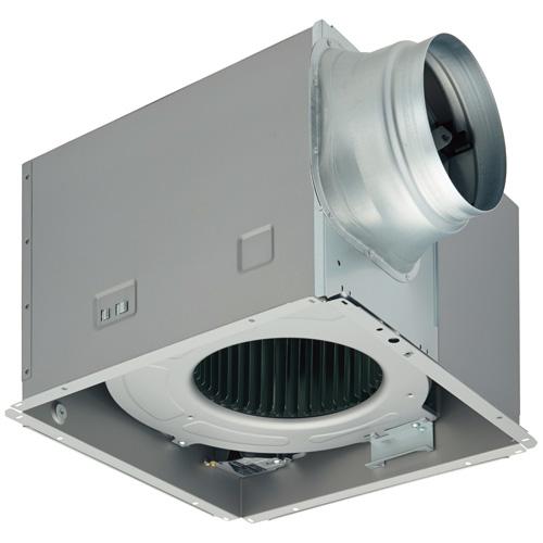 DVF-XT23D 東芝 ダクト用換気扇 ツインエアロファン 低騒音形 ルーバー(本体カバー)別売 強弱付 居間・事務所・店舗用