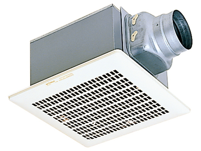 VD-15ZVY3 三菱電機 ダクト用換気扇 天井埋込形 台所用 DCブラシレスモーター搭載 24時間換気機能付 定風量タイプ ミニキッチン・湯沸室
