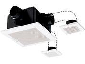 VD-18ZFVC2-HM 三菱電機 ダクト用換気扇 HEMS対応 天井埋込形 サニタリー用 DCブラシレスモーター搭載 24時間換気機能付 定風量タイプ 浴室・トイレ・洗面所・居間 二~三部屋換気用
