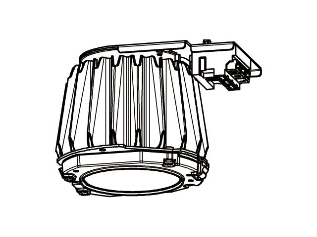 EL-DU250NHAHN 三菱電機 施設照明 LEDベースダウンライト MCシリーズ ライトユニット 固定出力 高演色タイプ クラス250 昼白色 EL-DU250NH AHN