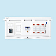 HCB13E6-102TL2B 日東工業 エコキュート(電気温水器)+IH用 HCB形ホーム分電盤 入線用端子台付(ドア付) リミッタスペース付 露出・半埋込共用型 エコキュート用ブレーカ20A 主幹3P60A 分岐10+2