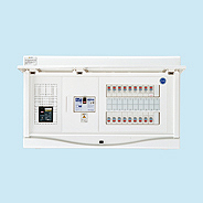 HCB3E7-222TL4B 日東工業 エコキュート(電気温水器)+IH用 HCB形ホーム分電盤 入線用端子台付(ドア付) リミッタスペースなし 露出・半埋込共用型 電気温水器用ブレーカ40A 主幹3P75A 分岐22+2