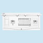 HCB13E7-282GCSA 日東工業 ガス発電+太陽光発電システム用 HCB形ホーム分電盤(ドア付) リミッタスペース付 露出・半埋込共用型 主幹3P75A 分岐28+2