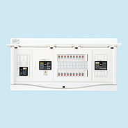 HCB3E7-342STL3B 日東工業 エコキュート(電気温水器)+IH+太陽光発電用 HCB形ホーム分電盤 入線用端子台付(ドア付) リミッタスペースなし 露出・半埋込共用型 エコキュート用ブレーカ容量30A 主幹3P75A 分岐34+2