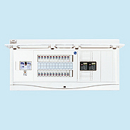 HCB3E7-342TE55B 日東工業 エコキュート(電気温水器)+IH+蓄熱用 HCB形ホーム分電盤 入線用端子台付 TE55タイプ(ドア付) リミッタスペースなし 露出・半埋込共用型 主幹3P75A 分岐34+2