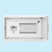 HMB3E4-80A 日東工業 HMB形ホーム分電盤 基本タイプ(ドア付・スチール製キャビネット使用) リミッタスペースなし 露出・埋込共用型 主幹3P40A 分岐8+0