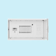 HMB3E7-204NA 日東工業 HMB形ホーム分電盤 付属機器取付スペース付(ドア付・スチール製キャビネット) リミッタスペースなし 露出・埋込共用型 主幹3P75A 分岐20+4