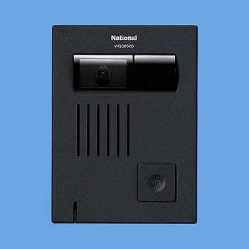 WQD852B Panasonic テレビドアホン カラーカメラ付ドアホン子器 WQD852B