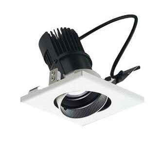 60-01542-00-91 マックスレイ 照明器具 基礎照明 CYGNUS SYSTEM DOWN LEDユニバーサルダウンライト 高出力タイプ 広角 HID20Wクラス 電球色(3000K) 連続調光 60-01542-00-91