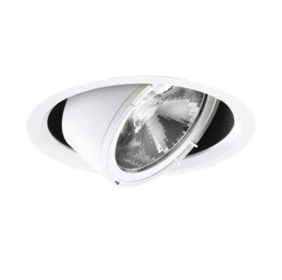 71-20710-00-97 マックスレイ 照明器具 基礎照明 GEMINI-L LEDユニバーサルダウンライト φ150 狭角 低出力タイプ HID35Wクラス 白色(4000K) 非調光 71-20710-00-97