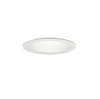 71-20982-10-97 マックスレイ 照明器具 基礎照明 CYGNUS φ75 LEDベースダウンライト 低出力タイプ ストレートコーン 広角 JR12V50Wクラス 白色(4000K) 非調光