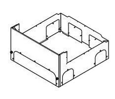 AD-HE30C3F-C Panasonic エコキュート 貯湯ユニット その他設置部材 脚部化粧カバー 鋼鉄製4方向