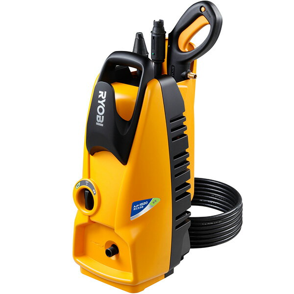 AJP-1520SP リョービ RYOBI 清掃機器 高圧洗浄機 吐出圧力10MPa 静音モード、延長高圧ホース8m付