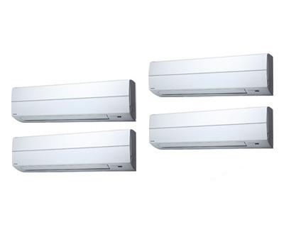 AKSF28067X 【東芝ならメーカー3年保証】 東芝 業務用エアコン 壁掛形 スーパーパワーエコゴールド 同時ダブルツイン 280形 (10馬力 三相200V ワイヤレス)