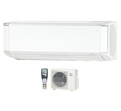 AS-XN28H 富士通ゼネラル 住宅設備用エアコン nocria XNシリーズ(2018) 寒冷地向け (おもに10畳用・単相200V・室内電源)