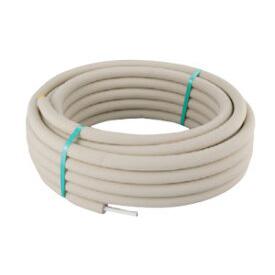 CUPE10PA10-25 オンダ製作所 配管資材 樹脂管継手 カポリエコ カポリエコパイプ 呼び径:10 被覆厚:10 長さ:25m