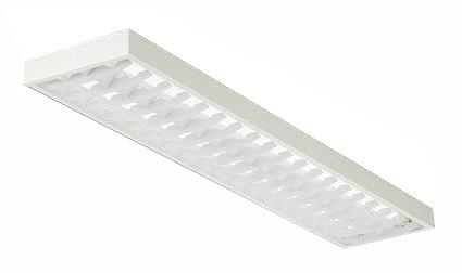 DBL-4470WW35 大光電機 照明器具 直管LEDベースライト 直付 昼白色 非調光 ルーバー付 高出力タイプ 40W形×2灯タイプ DBL-4470WW35