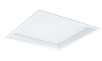 EL-SK5513W-4AHTZ 三菱電機 施設照明 LEDスクエアベースライト 一体形 □450 埋込形(乳白カバー深枠タイプ) クラス600 FHP32形×4灯器具相当 白色 連続調光(信号制御) EL-SK5513W/4 AHTZ