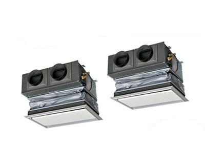 FDRZ805HP5S 三菱重工 業務用エアコン エクシードハイパー 天埋カセテリア 同時ツイン80形 (3馬力 三相200V ワイヤード キャンバスダクトパネル仕様)