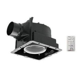 FY-24JG8VC パナソニック Panasonic 天井埋込形換気扇 パッと換気スイッチ付 ルーバー別売タイプ 低騒音・特大風量形 浴室、トイレ・洗面所、居室・廊下・ホール・事務所・店舗用