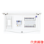 HCB13E6-221AP 日東工業 パワーアラーム付 HCB形ホーム分電盤(ドア付) リミッタスペース付 露出・半埋込共用型 主幹3P60A 分岐22+1