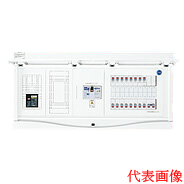 HCB13E6-282STLR4B 日東工業 エコキュート(電気温水器)+IH+太陽光発電用 HCB形ホーム分電盤 入線用端子台付(ドア付) リミッタスペース付 露出・半埋込共用型 電気温水器用ブレーカ容量40A 主幹3P60A 分岐28+2