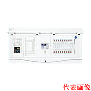 HCB13E6-302TL4B 日東工業 エコキュート(電気温水器)+IH用 HCB形ホーム分電盤 入線用端子台付(ドア付) リミッタスペース付 露出・半埋込共用型 電気温水器用ブレーカ40A 主幹3P60A 分岐30+2