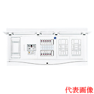 HCB13E7-84D 日東工業 ホーム分電盤 HCB形ホーム分電盤 ドア付 リミッタスペース付 付属機器取付スペース×2付 露出・半埋込共用型 主幹3P75A 分岐8+4