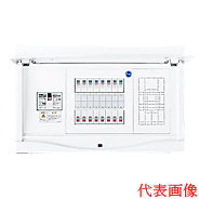 HCB3E5-164N 日東工業 ホーム分電盤 HCB形ホーム分電盤 ドア付 リミッタスペースなし 付属機器取付スペース付 露出・半埋込共用型 主幹3P50A 分岐16+4