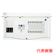 HCB3E6-102TL404B 日東工業 エコキュート(電気温水器)+IH+蓄熱用 HCB形ホーム分電盤 入線用端子台付 TL404タイプ(ドア付) リミッタスペースなし 露出・半埋込共用型 電気温水器用ブレーカ容量40A 主幹3P60A 分岐10+2