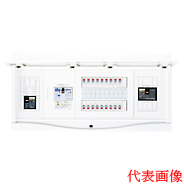 HCB3E7-302STL4B 日東工業 エコキュート(電気温水器)+IH+太陽光発電用 HCB形ホーム分電盤 入線用端子台付(ドア付) リミッタスペースなし 露出・半埋込共用型 電気温水器用ブレーカ容量40A 主幹3P75A 分岐30+2