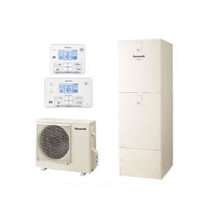 【コミュニケーションリモコン付】Panasonic エコキュート 370LECOSAVI フルオートタイプ NSシリーズHE-NS37JQS + HE-TQFJW