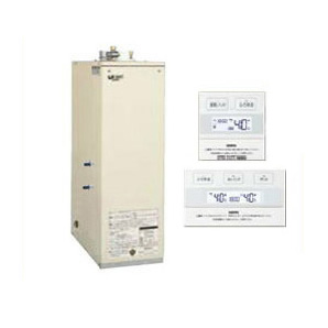 HMG-385FF-kr サンポット 石油給湯機器 セミ貯湯シリーズ Utac 給湯・追いだき床置式 屋内設置型 37.8kW 強制給排気 簡単リモコン付属 HMG-385F F + SRC-477F