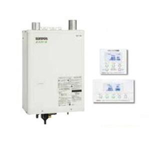HMG-E4710AKF + SRC-4710APEC サンポット 石油給湯機器 エコフィール 水道直圧式 フルオートタイプ 給湯+追いだき 壁掛式 屋内設置型 46.5kW コンパクト設計 強制給排気 インターホンリモコン付属