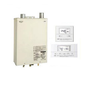HMG-Q477FKF + SRC-476FV サンポット 石油給湯機器 Qタイプシリーズ Utac 水道直圧式 給湯・追いだき 壁掛式 屋内設置型 46.5kW 強制給排気 音声リモコン付属